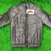 Демисезонная подростковая куртка
