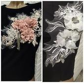 футболок 3д принт цветы
