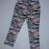 Модные женские трикотажные брюки длиною 7/8, размеры m,l,xl - италия