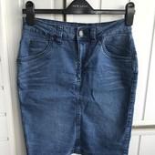 Джинсовая юбка esmara на М