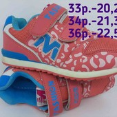 Классные кроссовки, кеды девочка с 33 по 36р. 20,2см-22,5см