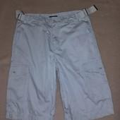 Серые мужские шорты бермуды от Ted Baker размер W 32