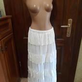 Крутая белая юбка лето качество Топ