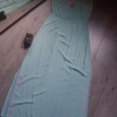 Туника пляжное платье на море вышивка кисточка по бокам разрезы