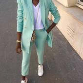 ❤️1 метр ткани креп-костюмка шикарного качества, свежий, сочный трендовый цвет