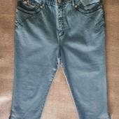 Турецкие шорты, капри. Моделируют фигуру. Поб 48 см. На бедра 100-104 см. Высокая талия