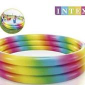Intex Бассейн, размером 147х33см, объём: 324л, вес: 1,37кг, от 3-х лет