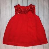 Шикарное, нарядное платье-блуза на 5-6 лет George