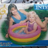 Детский надувной бассейн для малышей