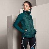 ☘ Кофта-куртка бігова з застібкою на блискавку, Tchibo(Германія), р. наши: 44-46 (S евро)