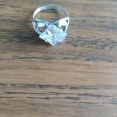 Серебряное кольцо, размер 17