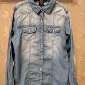 Крутая джинсовая рубашка Next, в идеале
