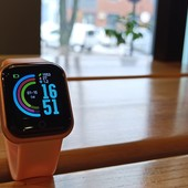 Смарт часы в стиле apple watch y68 ( d20 pro) /фитнес браслет