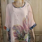 Очень красивая блузочка. Свободный фасон