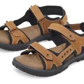 Кожаные сандали босоножки Crivit германия р.37 Унисекс
