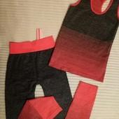 Костюмы,комплекты для фитнеса,спорта,йоги,отдыха ,цвет на выбор