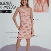 Блиц! классное платье от YoungStyle! На 13-14 лет, рост 158! из Польши! замеры! хлопок!