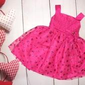 Супер красивое нарядное платье Sweet Heart Rose для малышки 2-3г