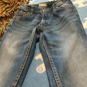 Джинсовые шорты на мальчика 7-8 лет,рост 128-134см
