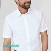 Тениска белая класическая от C&A размер S 37/38