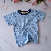 Коттоновая футболка Ergee, 9-12 месяцев