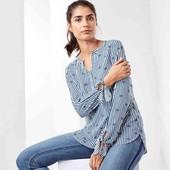 Блуза в полоску Tchibo, размер 42 евро, 48-50 укр