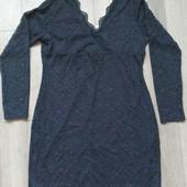 Нарядное круженое платье Lesara Германия! XL