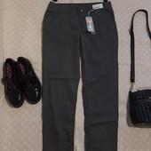 Стильные новые хлопковые брюки , хаки ! УП скидка 10%