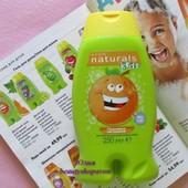 Детский гель для душа/пена для ванны Оранжевое настроение Avon naturals kids Эйвон 250 мл