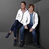☘ Стильна світловідбивна дитяча куртка з капюшоном від Tchibo (Німеччина), р.: 110/116