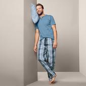 ☘ Якісні чоловічі штани для сну і відпочинку, бавовна, Tchibo (Німеччина), р.: 48-50 (M евро)