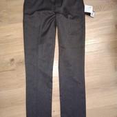 Next school новые брюки Слим на 12лет замеры на фото