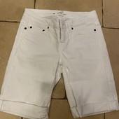 Бриджи Капри шорты из Коттона, джинс, от H&M