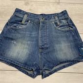 Джинсовые шорты 25 размер ( замеры в описании)