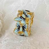Бабочки. ювелирная бижутерия, 18