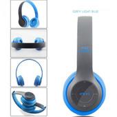 Беспроводные Bluetooth стерео наушники Mega Bass с MP3