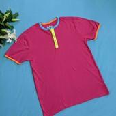 Яркая брендовая футболка! р.S-M(44-46)!!