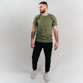 ❤️SonnyBono Бангладеш❤️стильная шикарного качества футболка цвет милитари L
