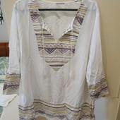 Рубашка-туника батистовая TCM Tchibo на наши 54-56р идеальное состояние