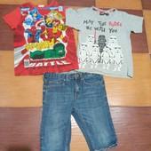 Фирменные футболки и шерты H&M 6-8 лет
