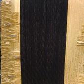 Классная стрейчевая легенькая черная юбка фактурное плиссе Акция читайте
