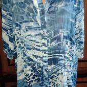 Платье туника рубашка, парео на 54-56р