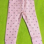 Распродажа штанишки для девочки розовые Cool club 86