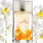 Silki Soft Musk, 50 мл - східно- деревний ( з пудровістю) аромат Avon