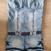 Комбинезон  джинсовый 42-44