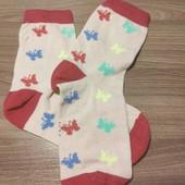 Лот 1 пара!!!!! Комфортные носочки с высоким содержание хлопка от ТСМ Tchibo размер 31/34