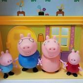 Семья свинка пеппа 4 героя