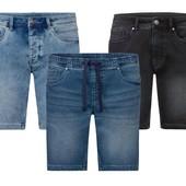 Livergy супер комфортные джинсовые эластичные шорты бермуды Denim Германия! В лоте черные!