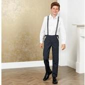 GG112.теплі штани Pepperts® з підтяжками для хлопчиків зріст 164