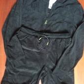 Спортивный костюм велюровый кофта и шорты Германия р. М 48/50 евро